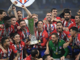 Hat-trick of competition wins for Atletico Madrid - Europa League 2017-18