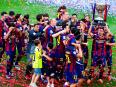 La Liga 2014-15: Barcelona win historic second treble