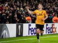 Jubilant Jota hits treble for Wolves in Europa League
