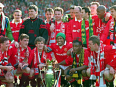 When Roy Keane arrived, and United steamrollered the division - the 1993/94 Premier League