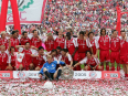 Magath completes debut double with Bayern Munich - the Bundesliga in 2004-05