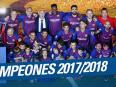 Brilliant Barca dominate domestically - La Liga in 2017-18