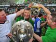 Wolfsburg become first-time German champions - the 2008/09 Bundesliga