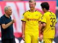Formation change? How Dortmund could line-up versus Lazio