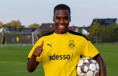 Dortmund sign another English wonderkid from Man City