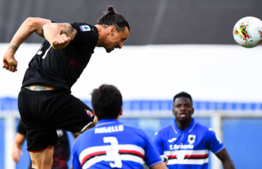 Zlatan Ibrahimovic: Player Rating and Performance v Sampdoria