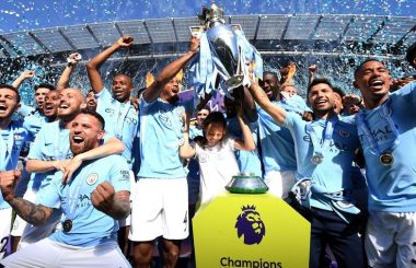 Record-breaking Manchester City give Guardiola first English title - the 2017/18 Premier League