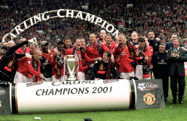 When Man Utd blew Arsenal away to win three in a row - the Premier League in 2000/01