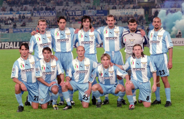 When Lazio had Veron, Nedved, Boksic, Nesta, Simeone, Salas and Mancini and finally won - Serie A in 1999/00