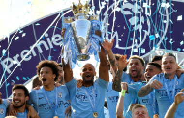 Manchester City celebrate famous domestic treble - the 2018/19 Premier League