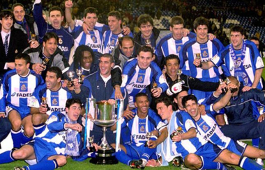 When Deportivo thrilled Spain to take the title - La Liga in 1999/00