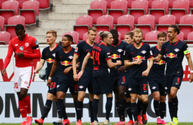 RB Leipzig's demolition of Mainz took aggregate score to... 13-0!