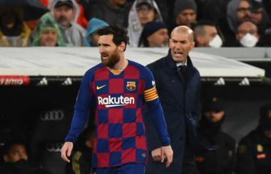 Zidane wants Messi to stay at Barcelona