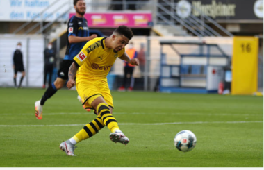 Superstar Sancho joined by Lewandowski in Bundesliga Top 5