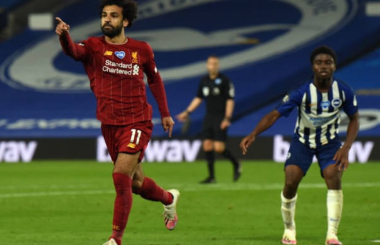 Mohamed Salah: Player Rating and Performance v Brighton