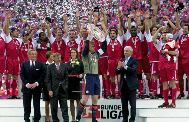 Bayern reclaim title after poaching Michael Ballack - the Bundesliga in 2002-03