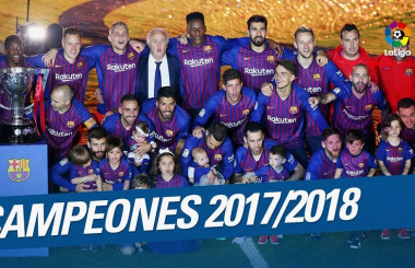 Brilliant Barca dominate domestically - La Liga in 2017-18