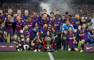 Messi inspires Barcelona to comfortable title defence - La Liga in 2018/19