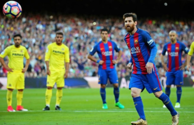 From taking free-kicks to playing one-twos - how Lionel Messi perfected every skill