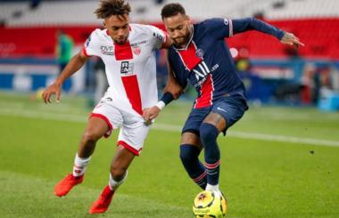 Neymar: Player Rating and Performance v Dijon