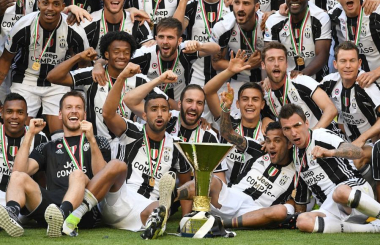An unprecedented six in a row for Juventus - Serie A in 2016-17