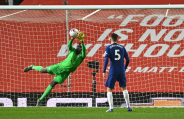 Edouard Mendy: Player Rating and Performance v Man Utd
