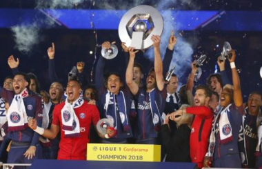 PSG emphatically reclaim Ligue 1 title - Ligue in 1 2017-18