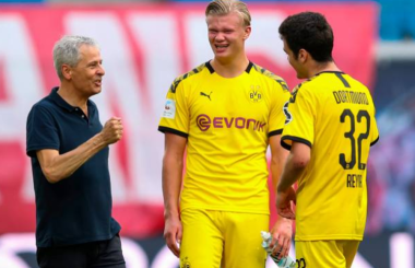 Formation change? How Dortmund could line-up versus Lazio
