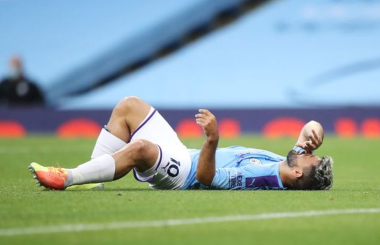 Sergio Aguero's knee injury: How serious is it?