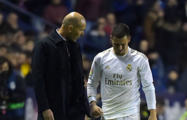 Zidane comments on latest Hazard injury setback