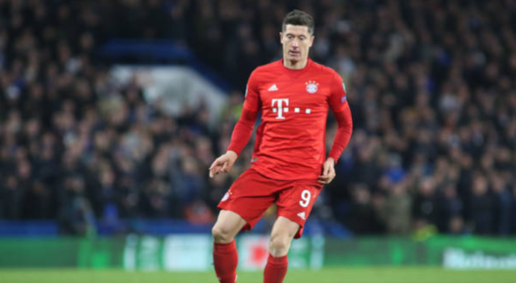 Robert Lewandowski Player Rating And Performance V Dortmund
