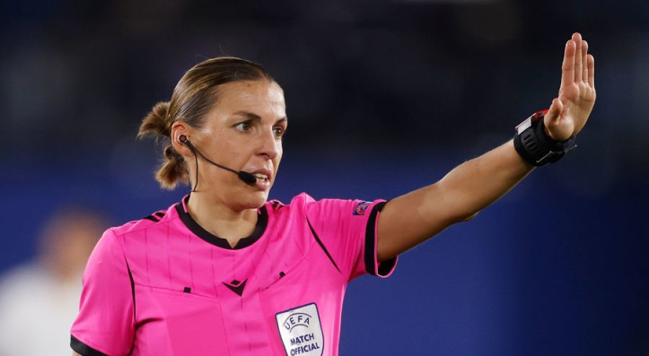 Stephanie Frappart to make UCL history in Juventus match