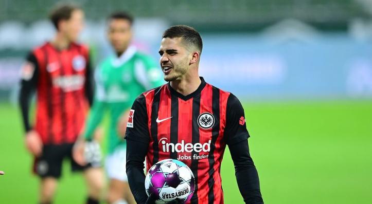 Man Utd target Andre Silva stars for Frankfurt again